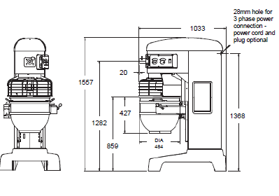 Hobart D300 Mixer Repair Manual