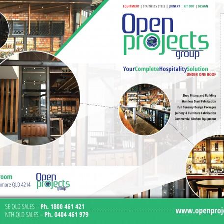 Open Projects Specials Brochure June 2016 – Gold Coast / Brisbane Shopfitting & Commercial Kitchen Equipment
