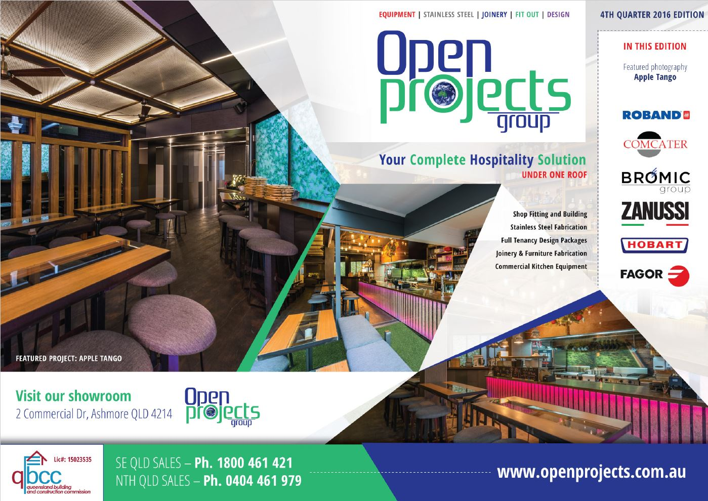 Commercial Kitchen Equipment Product ~ Th quarter specials brochure catering equipment open